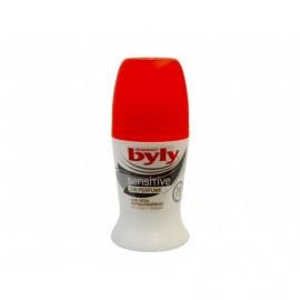 Empfindliches duftstofffreies Deodorant Byly auf 50 ml rollen