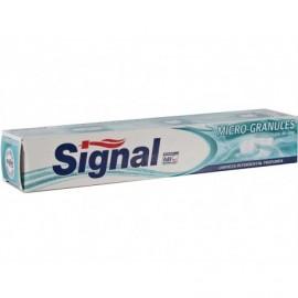 Signal Dentífrico Micro Gránulos Limpieza Profunda Tubo 75ml
