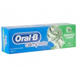 Oral-B Complete Whitening Toothpaste + Mouthwash 75 ml tube