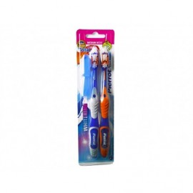 Pierrot Gold medium toothbrush pack 2