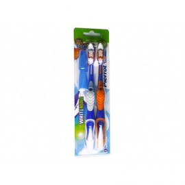 Pierrot Soft Gold Toothbrush Pack 2