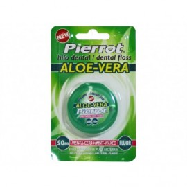 Pierrot Dental floss with fluoride and aloe vera Blister pack 1 unit - 50m