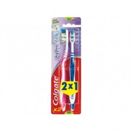 Colgate Cepillo Dental Medio ZigZag Pack 2x1ud