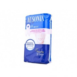 Ausonia Superplus overnight sanitary napkins Bag 10 units