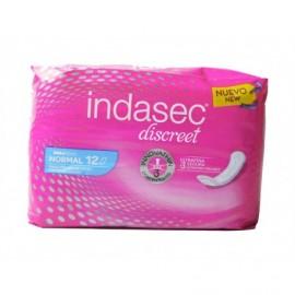 Indasec Normal incontinence pads Bag 12 units