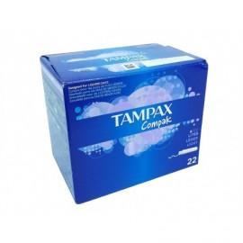 Tampax Compak Lites tampons Box 22 units