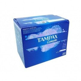 Tampax Tampones Compak Lites Caja 22ud