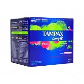 Tampax Compak Super tampons Box of 20 units