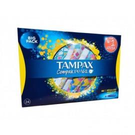 Tampax Compak Pearl Regular Tampons Box of 24 units