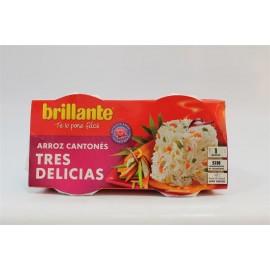 Brillante precooked Tres Delicias Rice Pk2