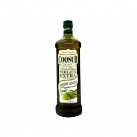 Coosur Huile d'Olive Extra Vierge Hojiblanca Bouteille 1l