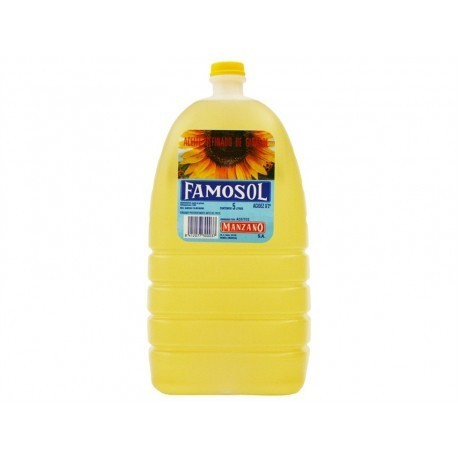 Famosol Garrafa 5l Sunflower oil