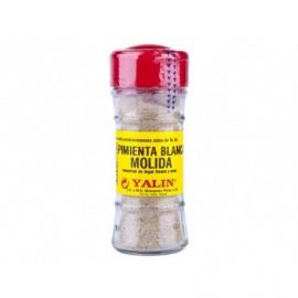 Yalin Poivre blanc moulu Pot en verre 28g