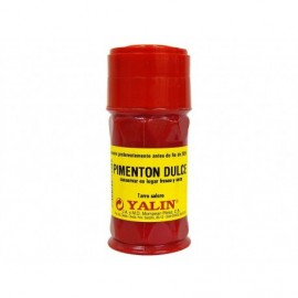 Yalin 35g glass jar Mild red paprika