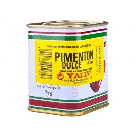 Yalin Pimentón Dulce Lata 75g