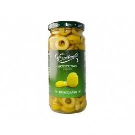 Excelencia 105g glass jar Sliced ??olives