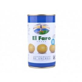 El Faro Manzanilla Fine Olive ripiene di acciughe Scatola 350 g