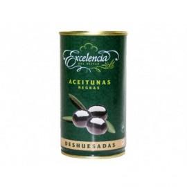 Excelencia Entsteinte schwarze Oliven konserven 350g