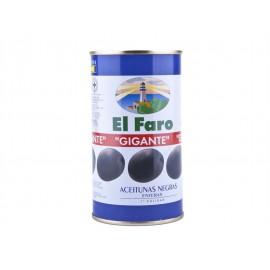 El Faro Aceituna Negra Entera Lata 350g