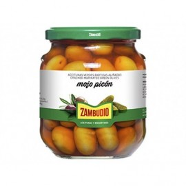 Zambudio Mojo Picon grüne Oliven 300g Glas