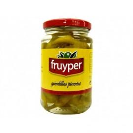 Fruyper Scharfe Pepperoni 370 ml Glas