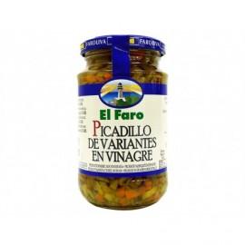 El Faro Varianten von eingelegtem Picadillo 370 ml Glas