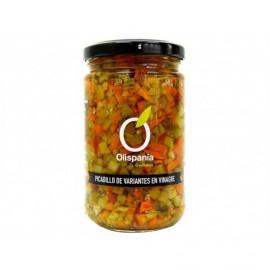 Olispania 300g glass jar Variants of pickled picadillo