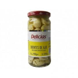 Delicias Dientes de Ajo a las Finas Hierbas Tarro 245g