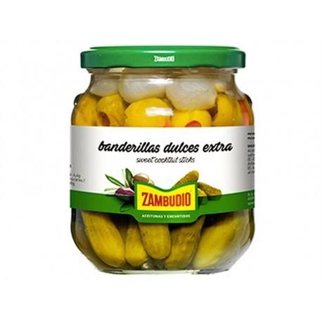 Zambudio 300g glass jar Sweet banderillas