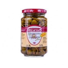 Delicias Kapern in Essig 180g Glas