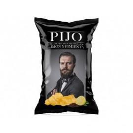 Pijo 130g bag Lemon and pepper chips