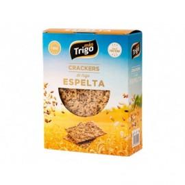 Mástrigo Crackers de Trigo Espelta Caja 240g