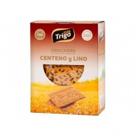 Mástrigo Crackers Centeno y Lino Caja 240g