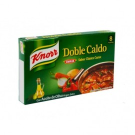Knorr Box of 8 Pastilles 80g Meat broth in extra virgin olive oil