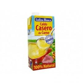 Gallina Blanca Caldo Casero de Carne 100% Natural Brik 1l