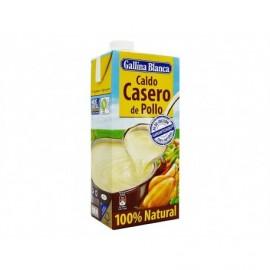 Gallina Blanca Caldo Casero de Pollo 100% Natural Brik 1l