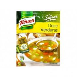 Knorr 41g bag 12 vegetable soup
