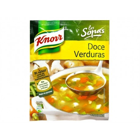 Knorr Sopa 12 Verduras Sobre 41g