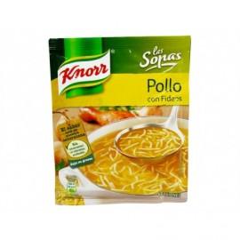 Knorr Sopa de Pollo con Fideos Sobre 63g
