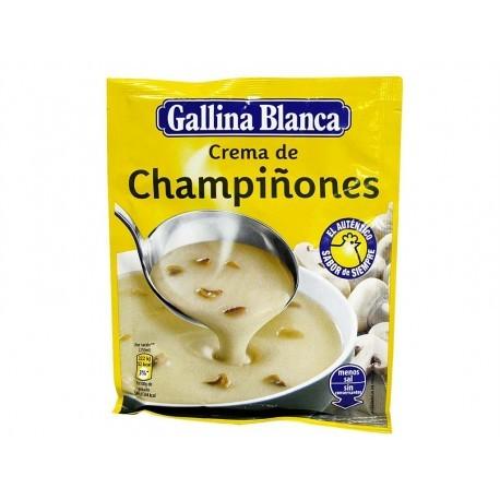 Gallina Blanca 62g bag Cream soup with mushrooms