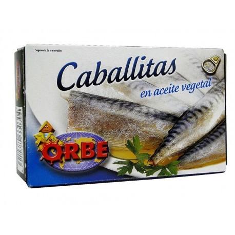 Orbe Caballitas en Aceite Vegetal Lata 124g