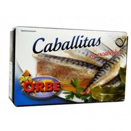 Orbe Caballitas en Escabeche Lata 124g