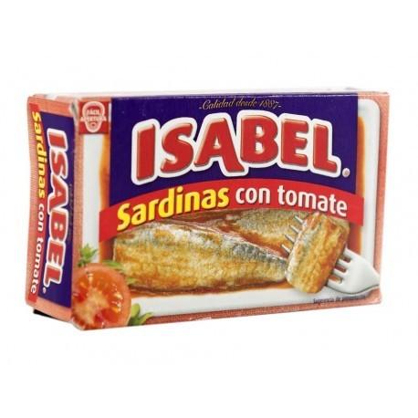 Isabel Sardinas con Tomate Lata 115g