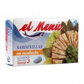 El Menú Sardinillas en Escabeche Lata 90g