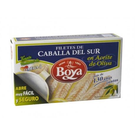 Boya Filetes de Caballa del Sur en Aceite de Oliva Lata 83g