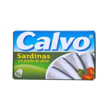 Calvo Sardinas en Aceite de Oliva Lata 120g