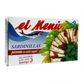 El Menú Sardinillas Picantes en Aceite Vegetal Lata 90g