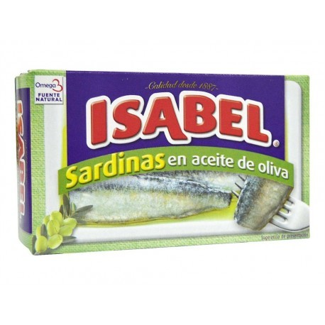 Isabel Can keep 115g Sardines in olive oil
