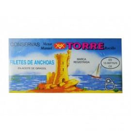 Torre Rocillo Alici in olio di semi di girasole Scatola 50 g