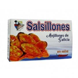 Cermar Cozze Salsillones in salsa piccante Scatola 111 g